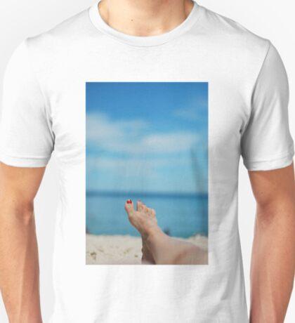 my feet, on holiday T-Shirt