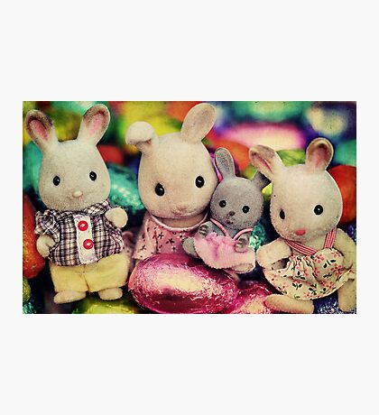 The Easter Bunnies Photographic Print