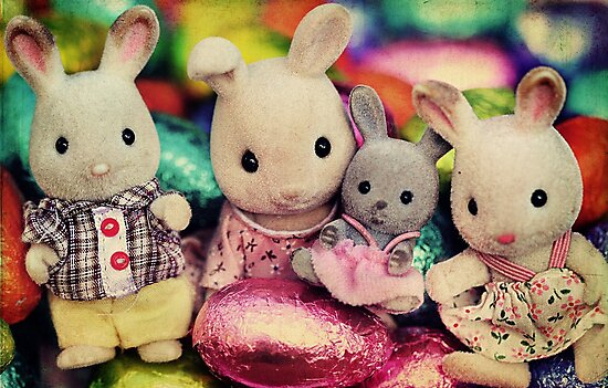 The Easter Bunnies by Tangerine-Tane