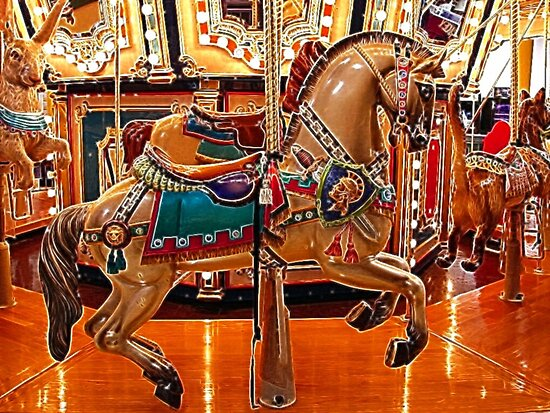 CAROUSEL HORSE by Tammera