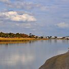 The River At Pawleys Island by Kathy Baccari