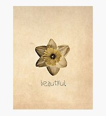 Beautiful. Photographic Print