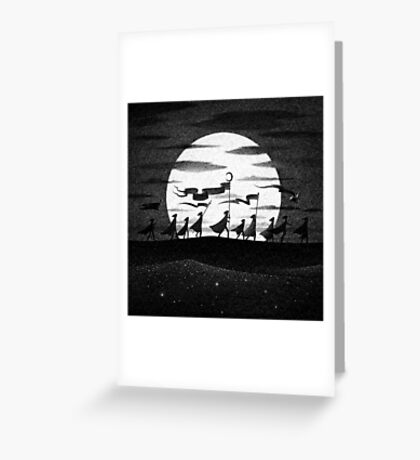 Drawlloween 2015: Moon Greeting Card