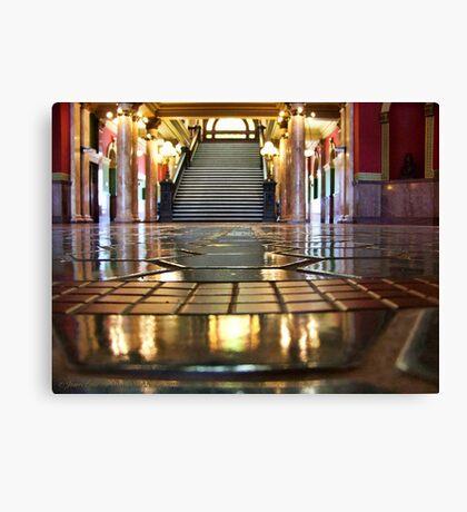 Capitol Lobby (Helena, Montana) Canvas Print