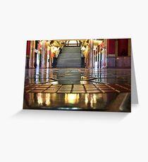 Capitol Lobby (Helena, Montana) Greeting Card