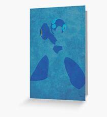 Megaman Greeting Card