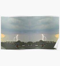 March 19 & 20 2012 Lightning Art 77 Poster