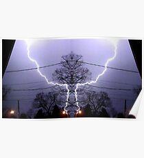 March 19 & 20 2012 Lightning Art 82 Poster
