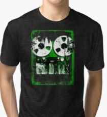 Damaged tapes recorder 2 Tri-blend T-Shirt