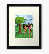 Rock n' Roll in the Garden of Eden Framed Print