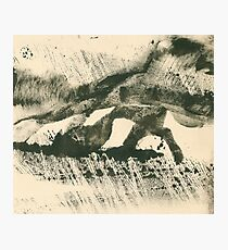Rainy Landscape  Photographic Print