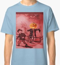 The Scarecrow (Vintage Halloween Card) Classic T-Shirt