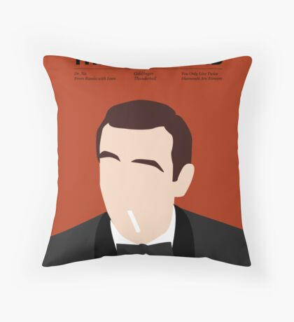 Officially the best bond - Connery! Throw Pillow
