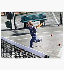 Tennis Lesson Poster