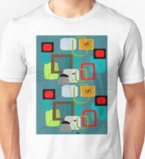 Mid-Century Modern Abstract Art III Unisex T-Shirt