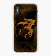 Dragonfight-cooltexture iPhone Case