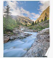 Blue river Poster