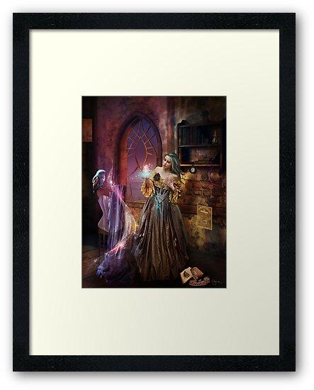 Enchanted Seamstress by jena dellagrottaglia