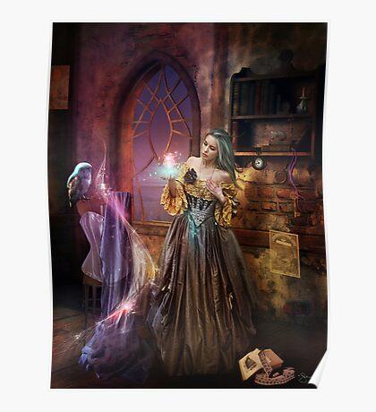 Enchanted Seamstress Poster