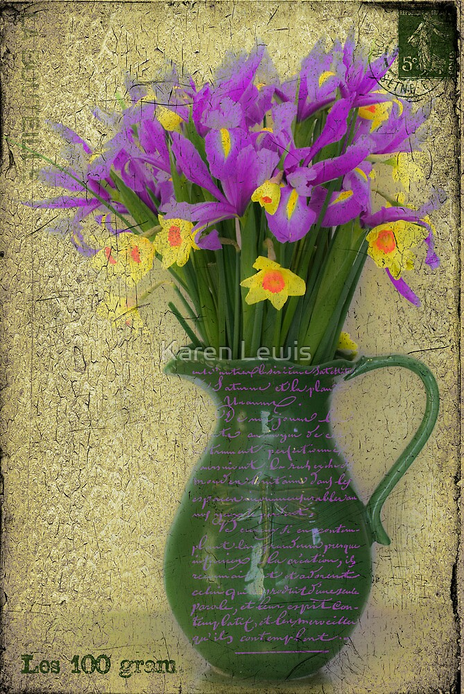 French Bouquet by Karen Lewis