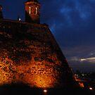 Cartagena Castle by TatiDuarte