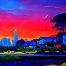 Brighton Park Sunset by Guntis Jansons