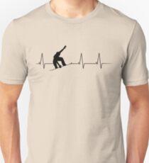 Heartbeat Snowboarder T-Shirt