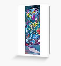 Every Time a Whale Blows Their Spout, a New Dream is Born. Greeting Card