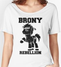 BRONY Davvid Daggers Women's Relaxed Fit T-Shirt