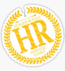 HR SURVIVAL GAMES Sticker