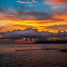 Sunset, Candidasa BALI by Des Berwick