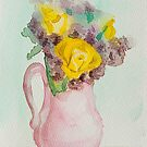 Jug of Flowers by Gillian Cross