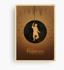 Steven Spielberg's RAIDERS OF THE LOST ARK Canvas Print