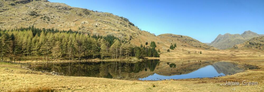 Blea Tarn ...Tranquility by Jamie  Green