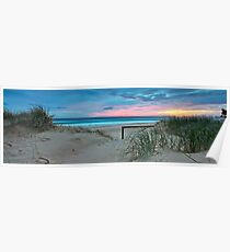 Currumbin Beach Sunrise - Panorama Poster