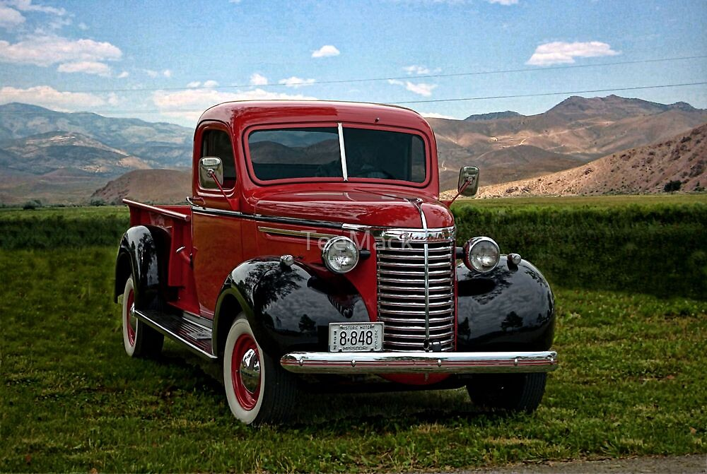 1940 Chevrolet 3/4 Ton Pickup Truck by TeeMack