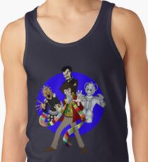 The Fourth Doctor Tank Top