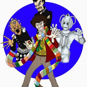 The Fourth Doctor by DamoGeekboy