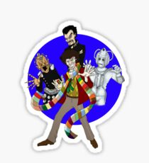 The Fourth Doctor Sticker