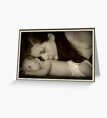 A Mothers Love Grußkarte