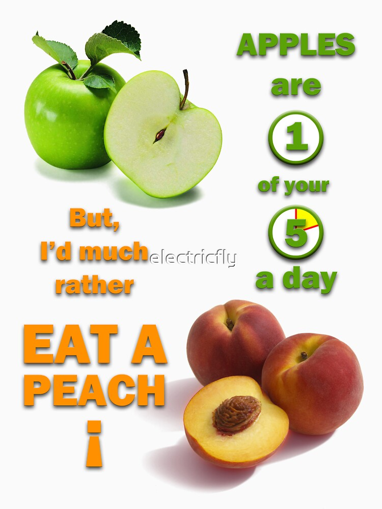 Apples are 1 of your 5 a day by electricfly