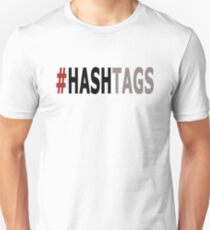 Twitter Hashtag (Black/Grey) T-Shirt