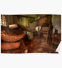 Laundry Days - Monte Christo Mansion, Junee NSW, The HDR Experience Poster