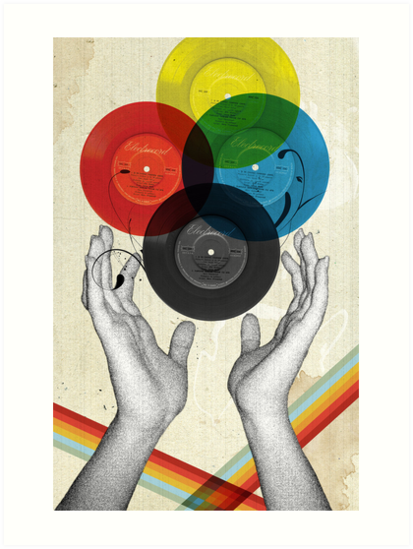 CMYK - the creation of retro by Elo Marc