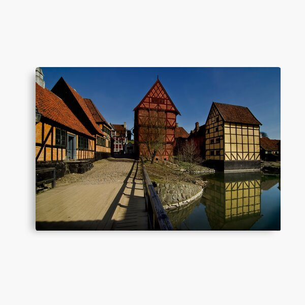 The old town  Canvas Print