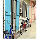 French Quarter Bike Shop by Sandra Russell