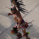 The Indian Dancer - Azteca bailando by PtoVallartaMex