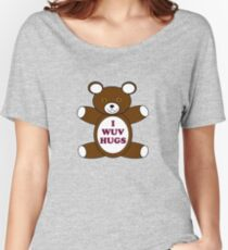 Supernatural 'I Wuv Hugs' Women's Relaxed Fit T-Shirt