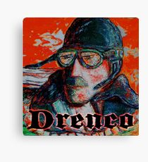 Sly Pilot by Drenco Canvas Print