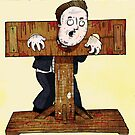 Cameron In The Stocks by Mark Wilkie